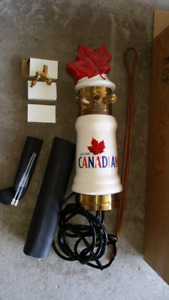 Brand new Molson Canadian ceramic draft beer tap tower