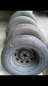 Pirelli Winter Tires (4 tires with rims)