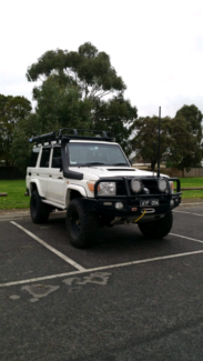 Toyota landcruiser 76 series v8 turbo diesel Ferntree Gully Knox Area Preview
