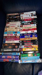 43 VHS assorted movies