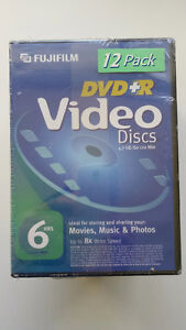 Various blank media dvd+r. Recordable discs.