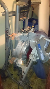 "Sliding Dual Bevel 10"" Mitre Saw Rigid Utility Vehicle MUST SELL"