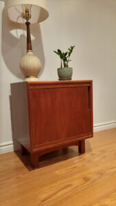 Mid Century Teak / Teck Night table (only one available)