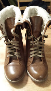 Brand New Nine West Brown Winter Boots