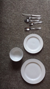 Dishes and utensils