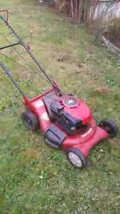 Self propelled mower