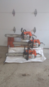 3 STIHL saws for sale