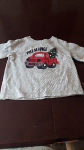 Baby Outfits Including Christmas top.