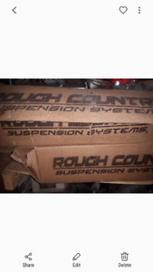 5 inch Rough country lift kit for 2002 Dodge Ram and up