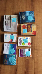 Second and third year U of S nursing textbooks
