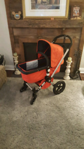 Bugaboo Frog, seat, bassinet and bedside stand