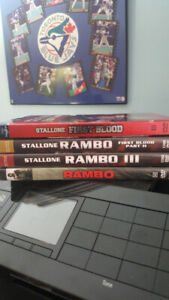 FIRST BLOOD  RAMBO COLLECTION ON DVD