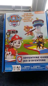 Paw patrol  spin game