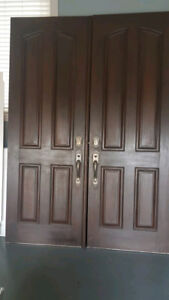 63x91 Double Doors - With & Without Window Inserts Available