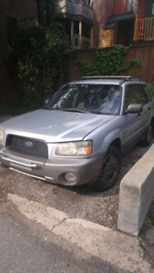 Subaru Forester XS manuelle