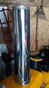 double wall insulated chiminey pipe
