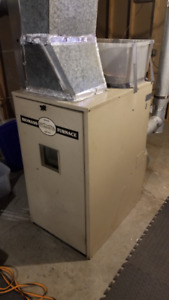 Treager GBU070 Pellet/Corn Furnace (Excellent working order)