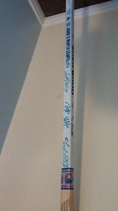 Autographed Hochey Stick, St. John's Maple Leafs