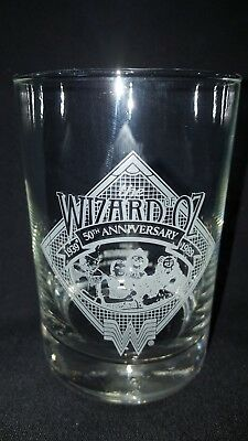 The Wizard of Oz 1939-1989 50th Anniversary Whataburger Collectors Glass !!