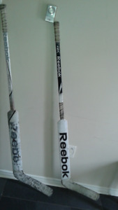 2 Reebok Luongo Goalie Sticks $35.00