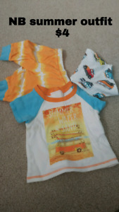 Baby Clothes, Play Mat and Activity Gym *PRICES BELOW*