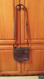 Real leather Tuscan ' s collection shoulder bag