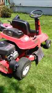 Snapper rear engine riding mower and craftsman snow blower