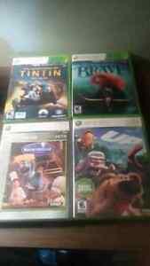 Plusieurs jeux xbox 360 disney en français