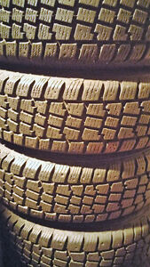 4 Avalanche X-treme winter tires 185 70 14 on Honda civic Rims