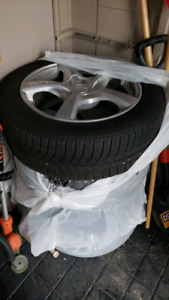 Michelin 215/ 55R 17 with rims