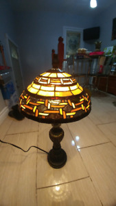 Stain Glass Lamp shade - one-of-a-kind