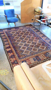 """Afghan Kilim number two! Approx 6'2"""" x 9'6"""""""