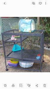 Cage a lapin (ou petit animaux)