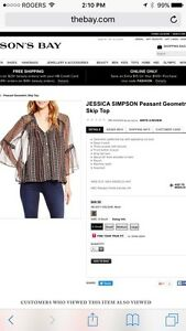 Woman's top- Jessica Simpson- Size Small-  BNWT Kitchener / Waterloo Kitchener Area image 1