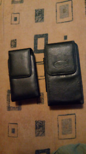 Leather Phone Carrying Case 2 sizes for sale