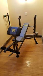 Marcy Weight Bench Press for $70