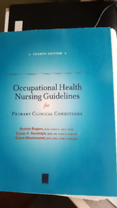 Occupational Health Nursing course text books