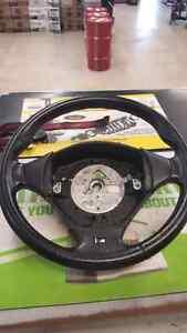 BMW e36 M3 Steering wheel & Passenger fender