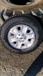 Ford F150 aluminum rims and tires