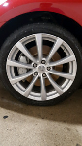 "Infiniti G37 19"" OEM Wheels Complete Set"