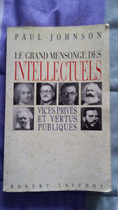 Le grand mensonge des intellectuels de Johnson