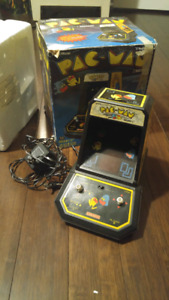 Coleco Pac Man tabletop arcade Complete