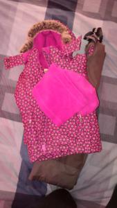 Toddler girl's winter suit 3T