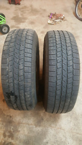 2 - 265 70 17 Goodyear tires $30