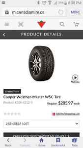 Winter tires for Explorer