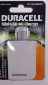 Duracell Mini USB Charger *NEW*