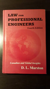 Law for Professional Engineers [4th Edition] by D.L. Marston