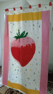 Wall Hanging/Duvet Cover - strawberry