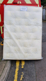 Double 4ft6 orthopaedic mattress free local delivery