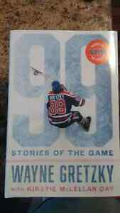 Gretzky 99 stories of the game book Autopen Edition Kitchener / Waterloo Kitchener Area image 1